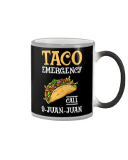 Emergency Call 9 Juan Juan Classic Shirt Color Changing Mug tile