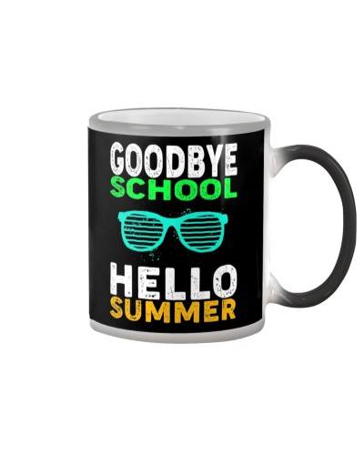 Goodbye School Hello Summer T-Shirt