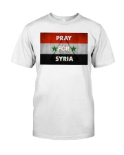 Pray For Syria Shirt Classic T-Shirt thumbnail
