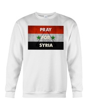 Pray For Syria Shirt Crewneck Sweatshirt thumbnail