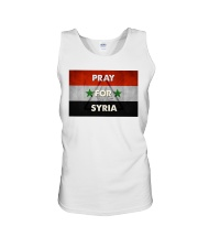 Pray For Syria Shirt Unisex Tank thumbnail