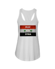 Pray For Syria Shirt Ladies Flowy Tank thumbnail