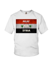 Pray For Syria Shirt Youth T-Shirt thumbnail