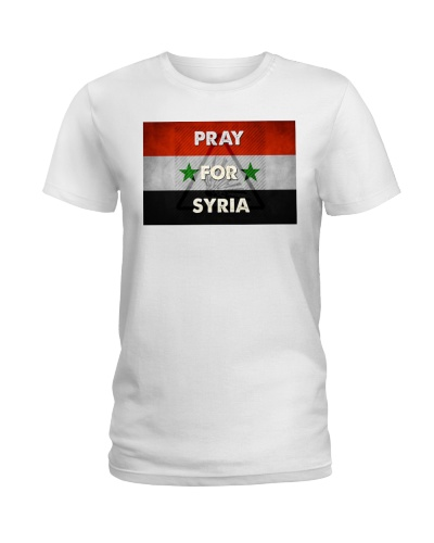 Pray For Syria Shirt