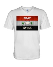 Pray For Syria Shirt V-Neck T-Shirt thumbnail