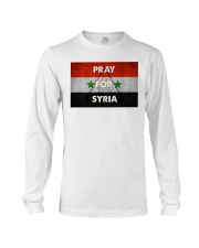 Pray For Syria Shirt Long Sleeve Tee thumbnail