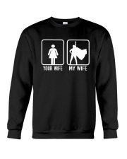 Your Wife My Wife Superhero Woman T-Shirt Crewneck Sweatshirt thumbnail