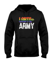 Original LGBTQ ARMY T-Shirt Hooded Sweatshirt thumbnail