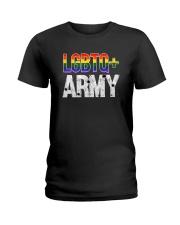 Original LGBTQ ARMY T-Shirt Ladies T-Shirt thumbnail