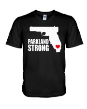 parkland strong T-Shirt V-Neck T-Shirt thumbnail