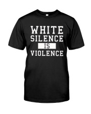 White Silence White Consent Black Lives Matter Tee Premium Fit Mens Tee thumbnail