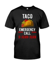 Emergency Call 9 Juan Juan Shirt Premium Fit Mens Tee thumbnail