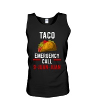 Emergency Call 9 Juan Juan Shirt Unisex Tank thumbnail
