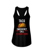Emergency Call 9 Juan Juan Shirt Ladies Flowy Tank thumbnail