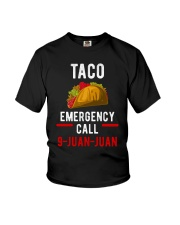 Emergency Call 9 Juan Juan Shirt Youth T-Shirt thumbnail