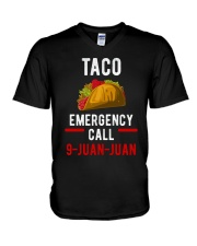 Emergency Call 9 Juan Juan Shirt V-Neck T-Shirt thumbnail
