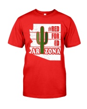 Redfored Arizona Teachers United Shirt Classic T-Shirt thumbnail