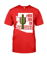 Redfored Arizona Teachers United Shirt Premium Fit Mens Tee thumbnail