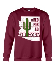 Redfored Arizona Teachers United Shirt Crewneck Sweatshirt thumbnail