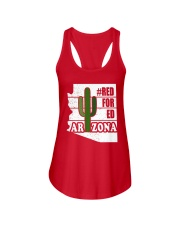 Redfored Arizona Teachers United Shirt Ladies Flowy Tank thumbnail