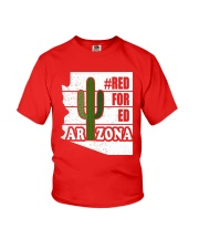 Redfored Arizona Teachers United Shirt Youth T-Shirt thumbnail