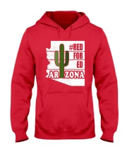Redfored Arizona Teachers United Shirt Hooded Sweatshirt thumbnail