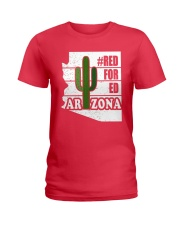 Redfored Arizona Teachers United Shirt Ladies T-Shirt thumbnail