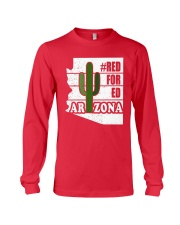 Redfored Arizona Teachers United Shirt Long Sleeve Tee thumbnail