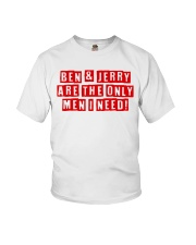 Are The Only Men I Need Shirt Youth T-Shirt thumbnail