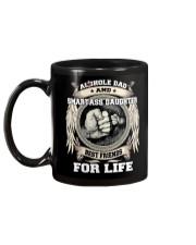 Asshole Dad Best Friend Shirt Mug back