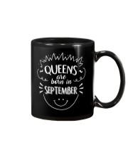 Queens Are Born In September T-Shirt Mug thumbnail
