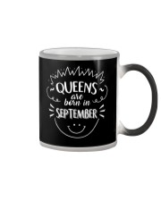 Queens Are Born In September T-Shirt Color Changing Mug thumbnail