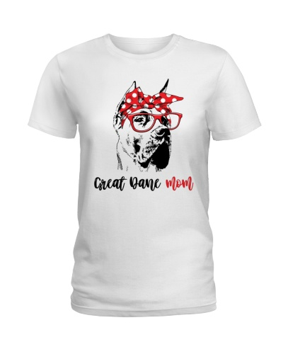 Great Dane Mom Gift T-Shirt
