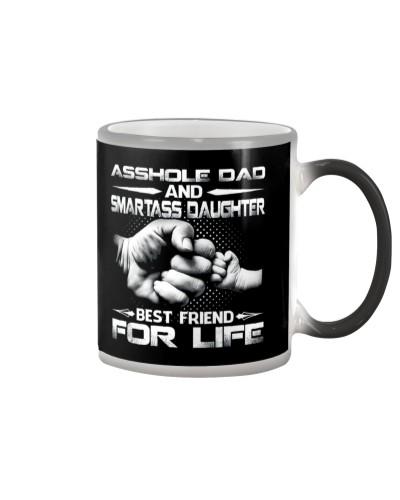 Asshole Dad And Smartass Daughter Shirts