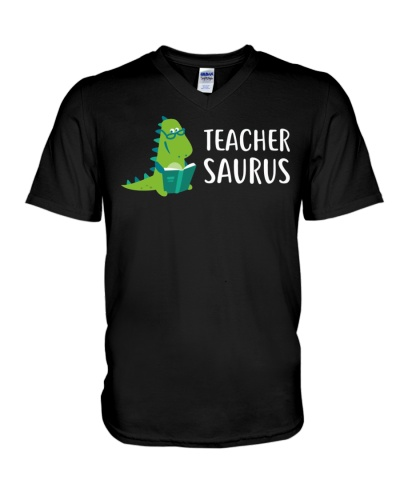 Teacher Saurus Tee Shirt