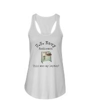 US Navy Radioman T-Shirt Ladies Flowy Tank front