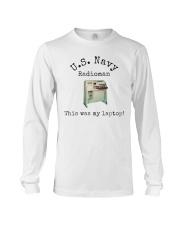 US Navy Radioman T-Shirt Long Sleeve Tee thumbnail