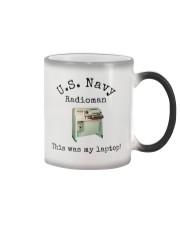 US Navy Radioman T-Shirt Color Changing Mug thumbnail