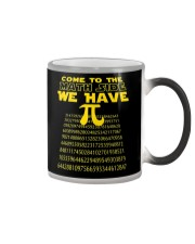 Come To The Math Side We Have Pi Shirt Color Changing Mug thumbnail