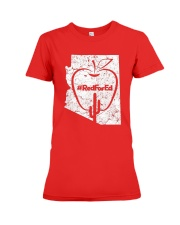 Vintage Red for Ed T-Shirt Premium Fit Ladies Tee front