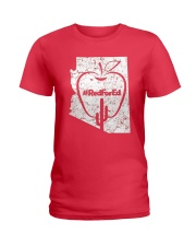 Vintage Red for Ed T-Shirt Ladies T-Shirt thumbnail