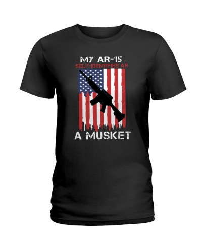 My AR-15 Self Identifies Shirts