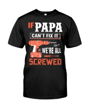 Best Papa Saying shirt Hoodie Best Papa Shirt Hood Classic T-Shirt thumbnail