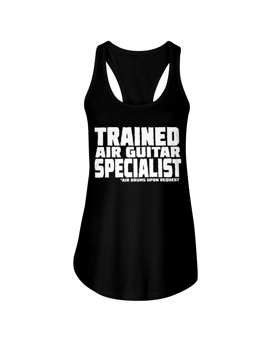 Air Guitar Specialist Ladies Flowy Tank