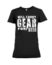Gear for Beer Premium Fit Ladies Tee front