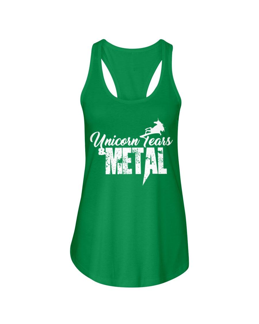 Unicorn Tears and METAL Ladies Flowy Tank