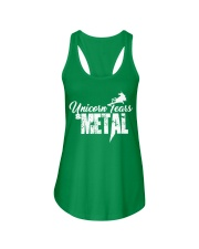 Unicorn Tears and METAL Ladies Flowy Tank front