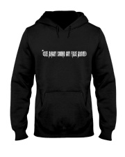 Angry Sound Guy Hooded Sweatshirt front