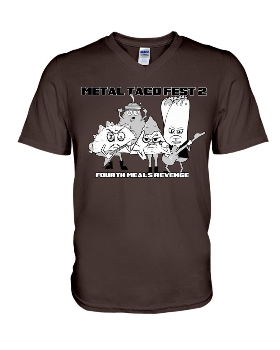 MTF2 - Fourth Meals Revenge V-Neck T-Shirt