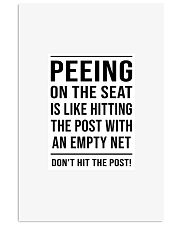 Dont be peeing 11x17 Poster front